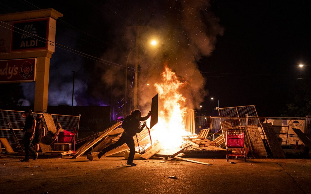 Widespread Arson, Looting in Protests against George Floyd Murder