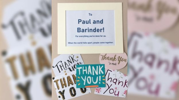 'Thank you' Book Made for UK Convenience Store Owner