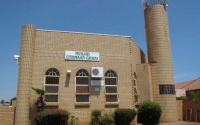 Masjid Uthman Gani in Lenasia South Suspends all Salaah After Worshipper Tests Positive for COVID-19