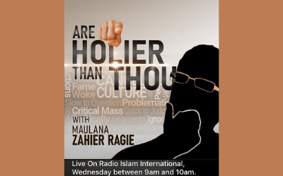 Are You Holier Than Thou Part 5 By Ml Zahier Ragie