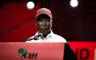"Malema Briefs Media On His ""Links"" To VBS"