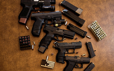 [LISTEN] Gangs open security companies as a front to get firearms.