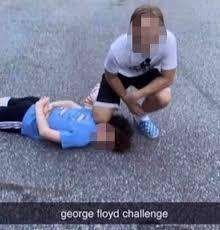 Horrifying 'George Floyd' Challenge Emerges