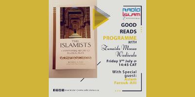 Good Reads with Zunaida Moosa Wadiwala – With special guest Aslam Farouk – Alli